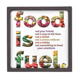 Food is Fuel Keepsake Box