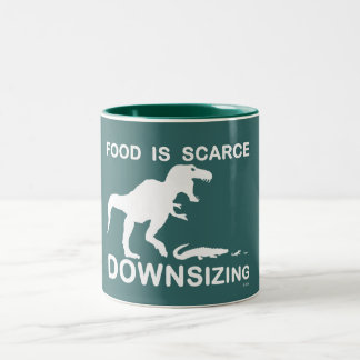 Food is scarce downsizing mugs