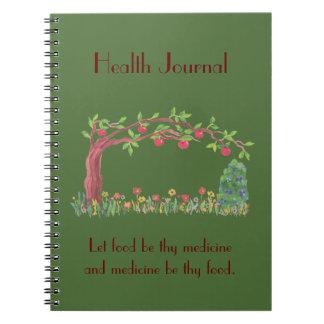 food jounral notebook