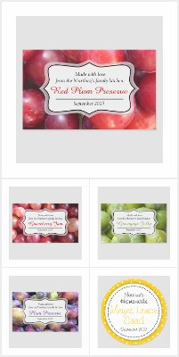 Food labels & stickers