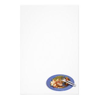 Food leftovers stationery