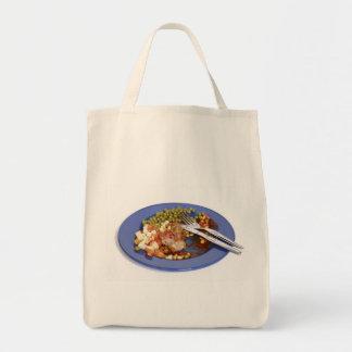 Food leftovers tote bag