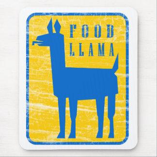 Food Llama Mouse Pad
