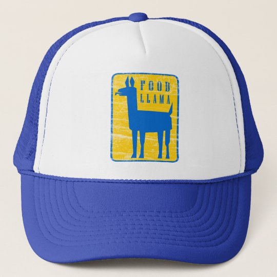 Food Llama Trucker Hat