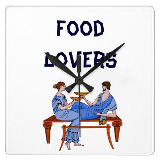 Food lovers clocks