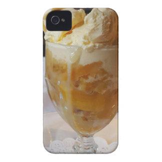 Food Lovers Peach Sundae iPhone 4 Case