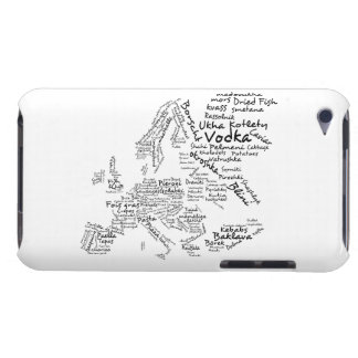 Food Map of Europe Case-Mate iPod Touch Case