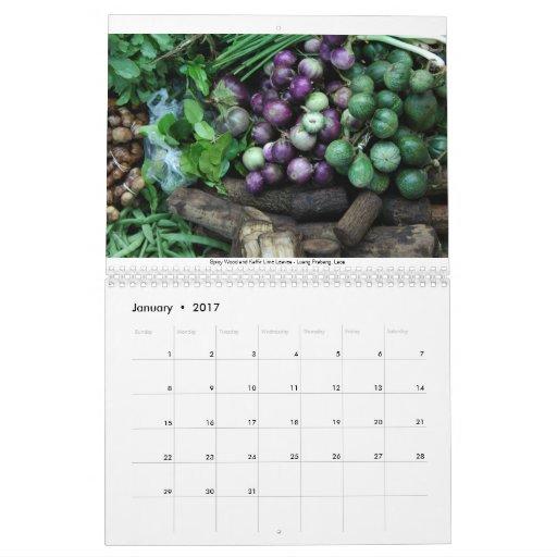 Food Markets of the World Calendar
