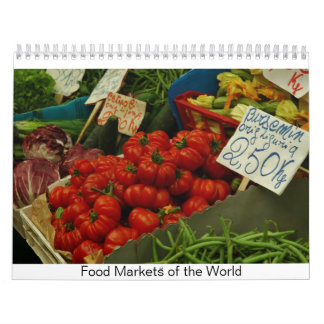 Food Markets of the World Calendar