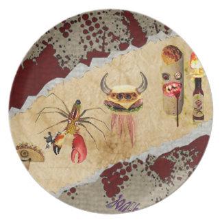 Food Monster Plate