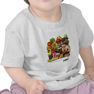 Food Never Tasted So Good!  Gluten Free Message Tee Shirts
