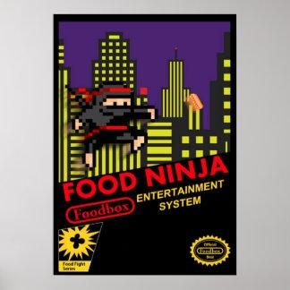 Food Ninja Print