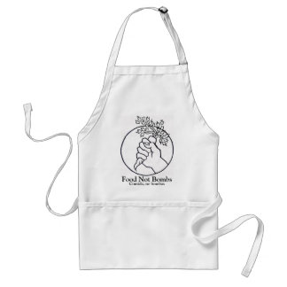 food not bombs apron