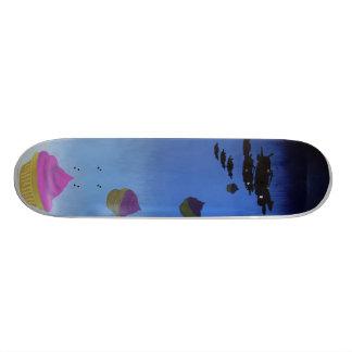 Food not bombs. skateboard deck