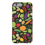 Food on a black background barely there iPhone 6 case