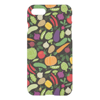 Food on a black background iPhone 8/7 case
