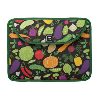 Food on a black background sleeves for MacBook pro