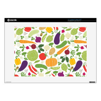 """Food on a white background 15"""" laptop skins"""