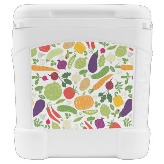 Food on a white background cooler