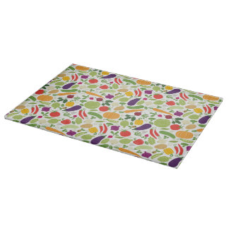 Food on a white background cutting boards