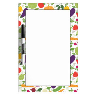 Food on a white background Dry-Erase board
