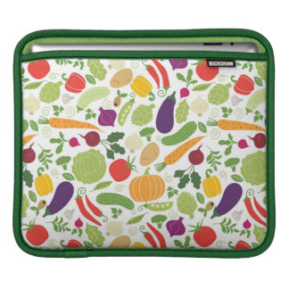 Food on a white background iPad sleeve