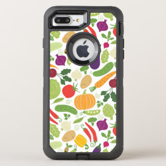 Food on a white background OtterBox defender iPhone 8 plus/7 plus case