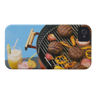 Food on grill iPhone 4 Case-Mate case