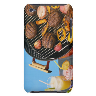 Food on grill iPod touch case