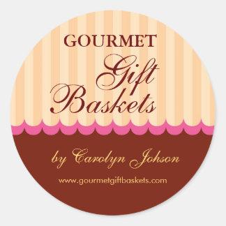 Food or Gift Basket Sticker