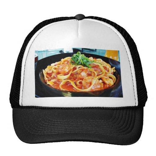Food Pasta Shrimp Trucker Hat
