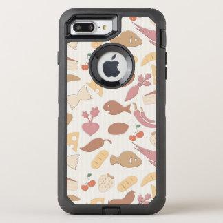 Food Pattern 2 2 OtterBox Defender iPhone 8 Plus/7 Plus Case