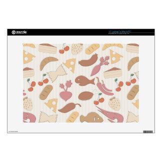 Food Pattern 2 Skin For Laptop