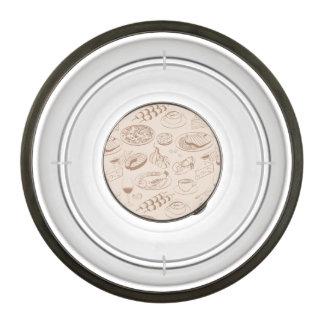 Food Pattern 3 2 Bowl