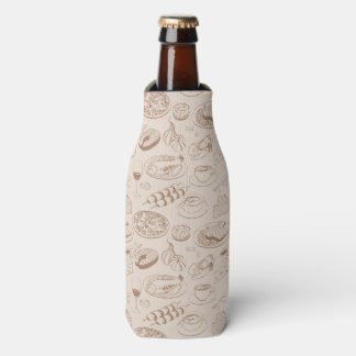 Food Pattern 3 Bottle Cooler