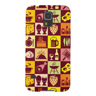Food Pattern 4 Galaxy S5 Covers
