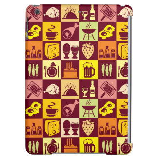 Food Pattern 4 iPad Air Cases