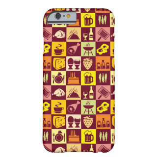 Food Pattern iPhone 6 Case
