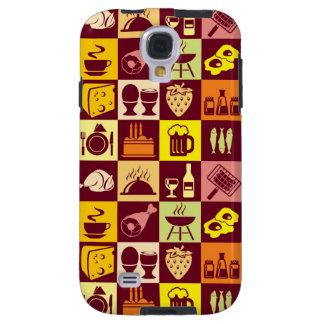 Food Pattern Galaxy S4 Case