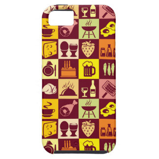 Food Pattern iPhone 5/5S Cover