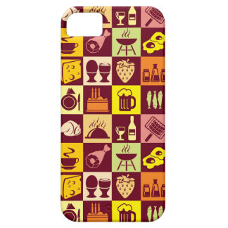 Food Pattern iPhone 5 Cover
