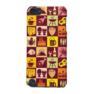Food Pattern iPod Touch 5G Cases