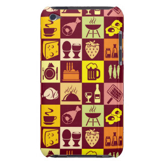 Food Pattern iPod Case-Mate Cases