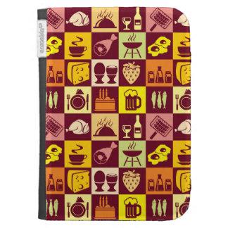 Food Pattern Kindle 3 Case