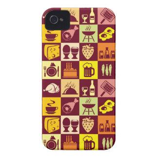 Food Pattern Case-Mate iPhone 4 Case