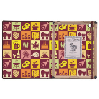 Food Pattern Cases For iPad