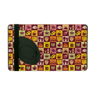 Food Pattern iPad Covers