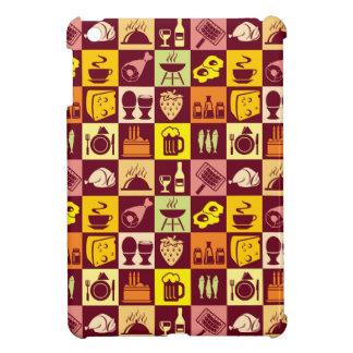Food Pattern iPad Mini Cover