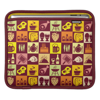 Food Pattern iPad Sleeve
