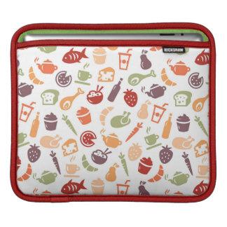 Food Pattern iPad Sleeve